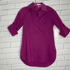 Couleur by Finley cotton button front shirt XS